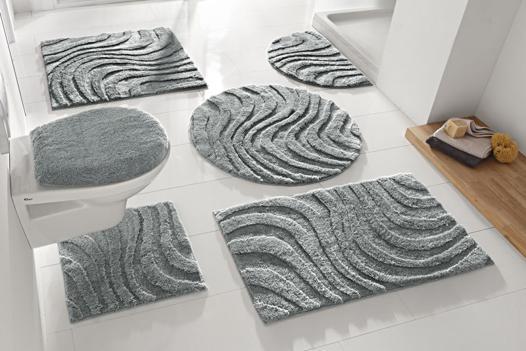 tapis salle de bain ovale