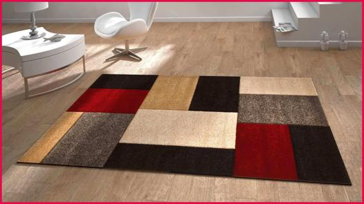 tapis salon contemporain