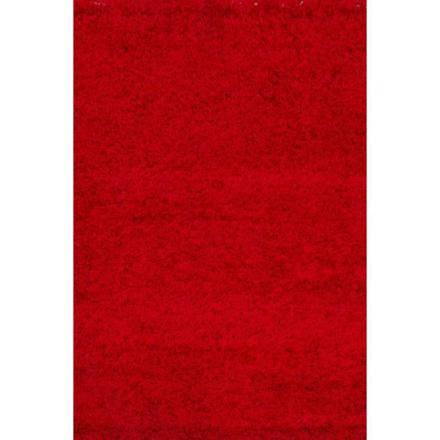 tapis salon rouge