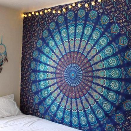 tapisserie murale hippie