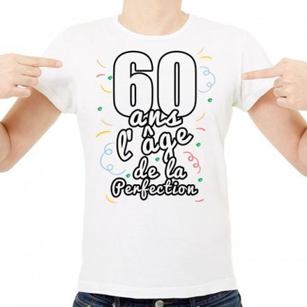tee shirt homme 60 ans