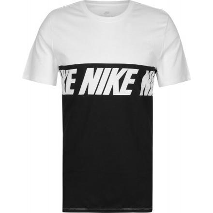tee shirt nike blanc et noir