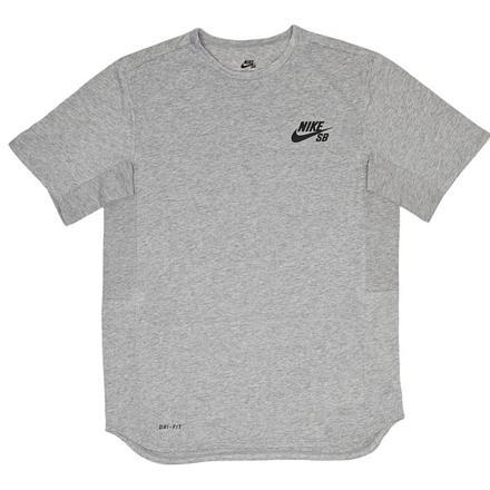 tee shirt nike gris