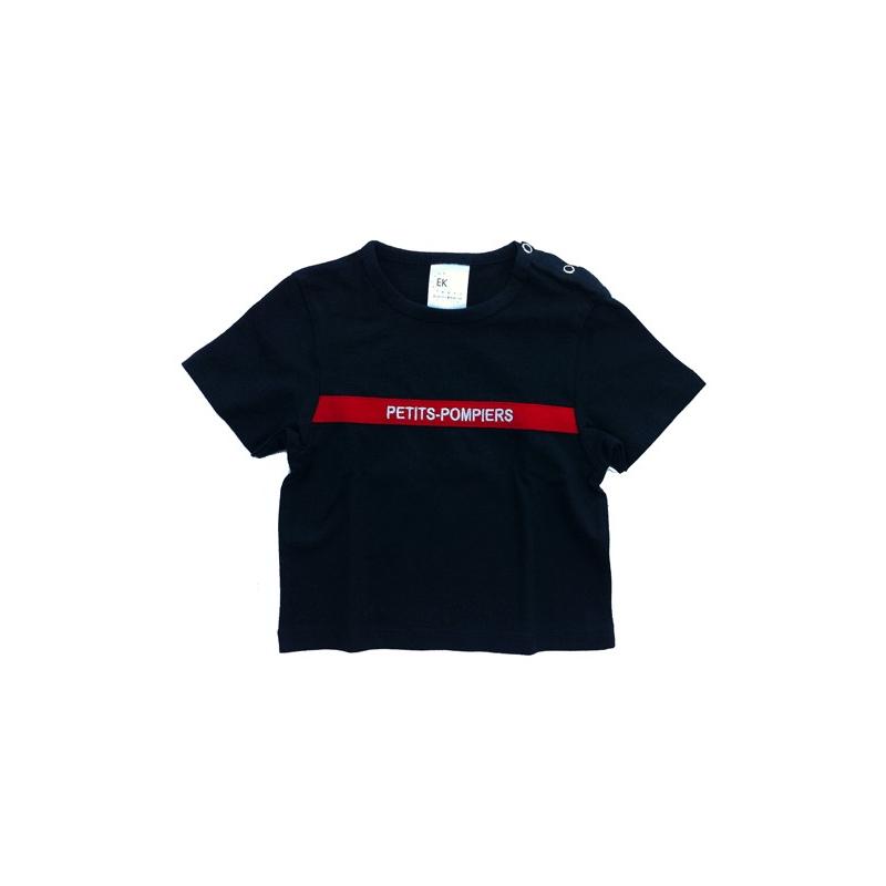tee shirt pompier enfant