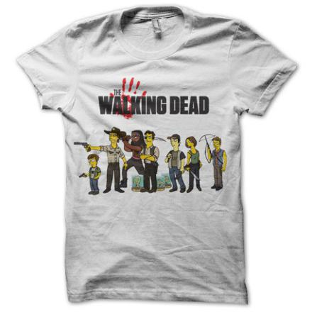 tee shirt the walking dead