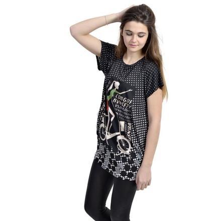 tee shirt tunique femme