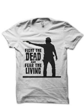 tee shirt walking dead