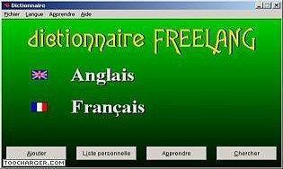 télécharger un dictionnaire anglais français