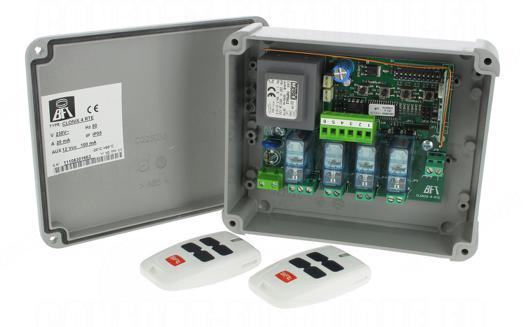 telecommande eclairage exterieur 4 canaux