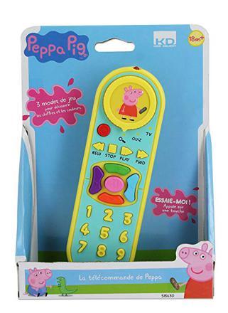 telecommande peppa pig