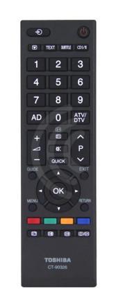 telecommande toshiba
