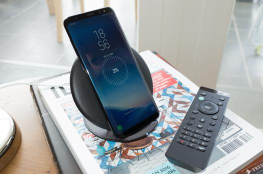 telephone compatible chargeur sans fil