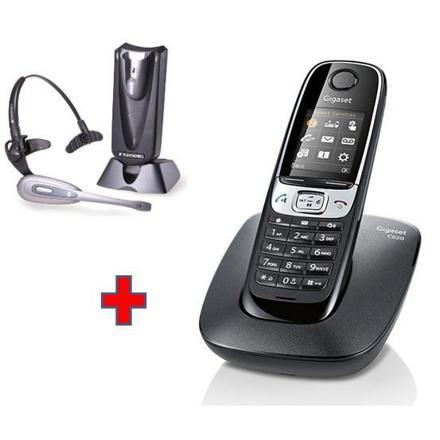 téléphone fixe avec casque sans fil