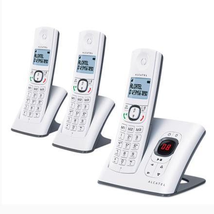 téléphone fixe trio avec répondeur