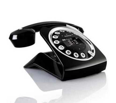 telephone fixe vintage sans fil