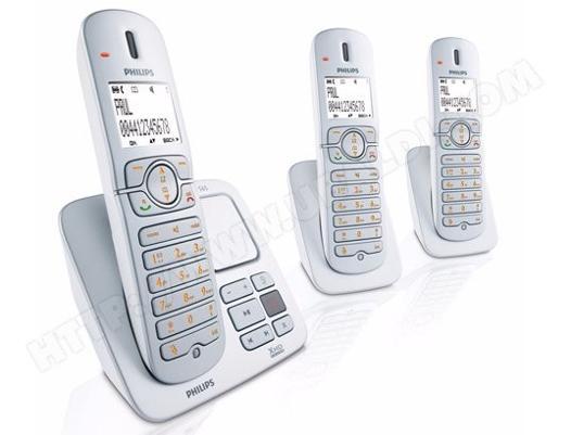 telephone sans fil trio philips