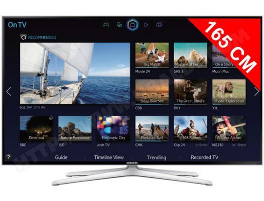 televiseur 165 cm led