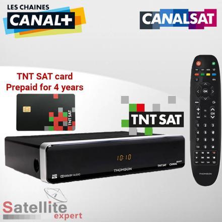 televiseur canal ready satellite