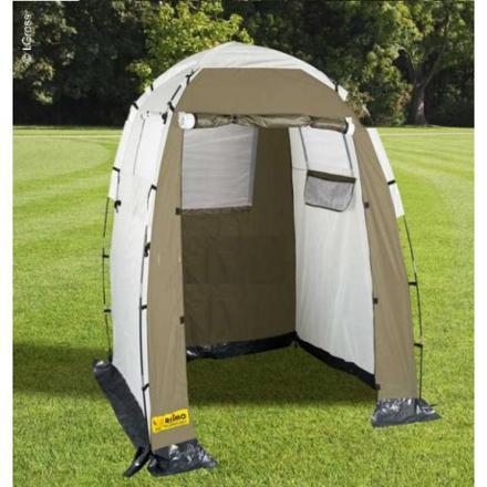 tente cabine douche camping