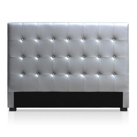 tete de lit argenté