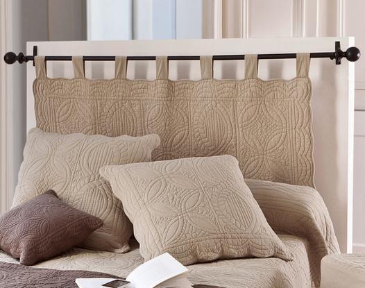 tete de lit barre a rideau