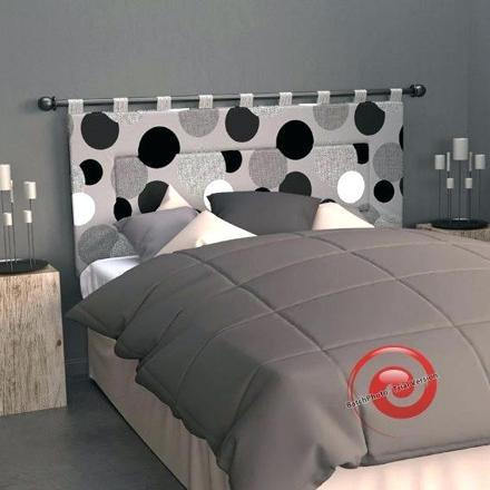 tete de lit barre rideau