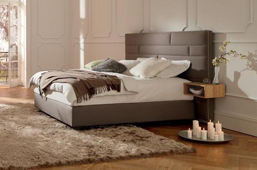 tête de lit chevet intégré