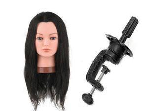 tete malléable cheveux naturel