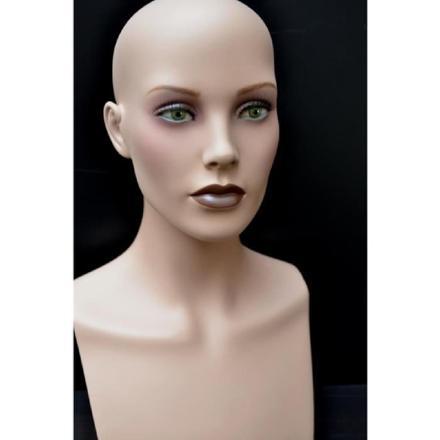 tête mannequin femme