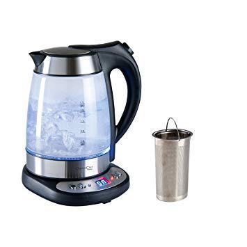 théière bouilloire à température réglable domoclip