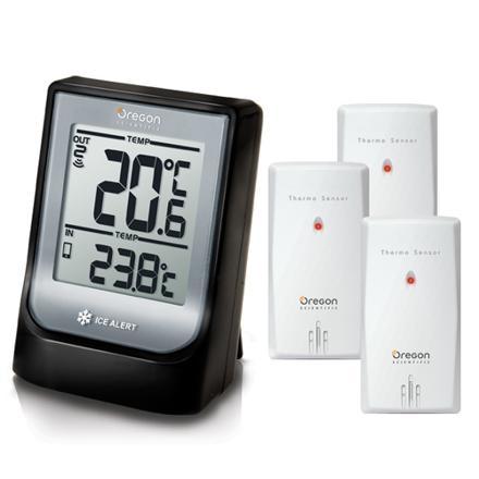 thermometre avec sonde extérieure sans fil