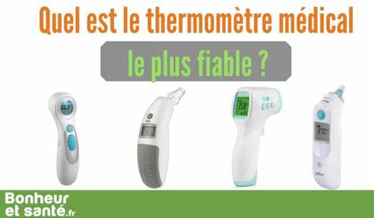 thermomètre médical le plus fiable