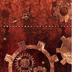 tissu steampunk