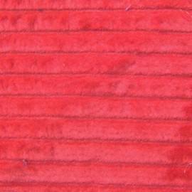 tissu velours grosses cotes