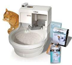 toilette pour chat automatique