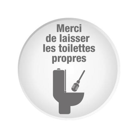 toilette propre