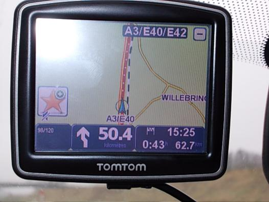 tomtom one mise à jour