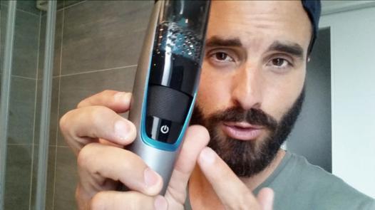 tondeuse à barbe longue