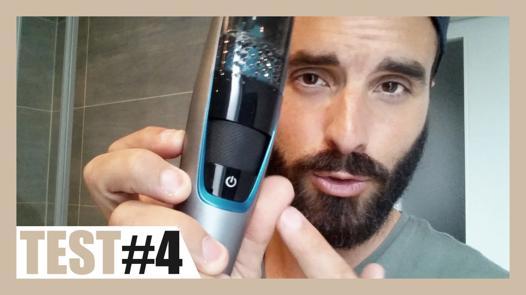 tondeuse barbe aspire poils