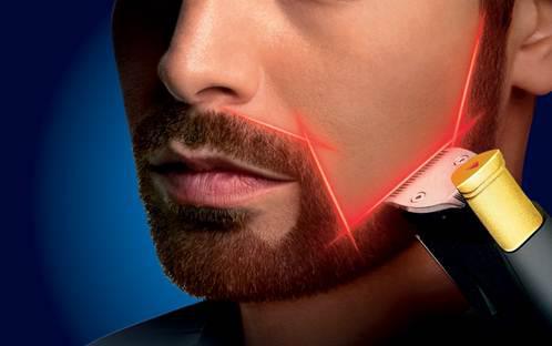 tondeuse barbe laser