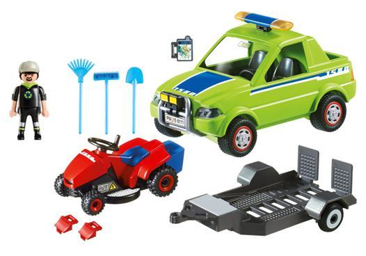 tondeuse playmobil