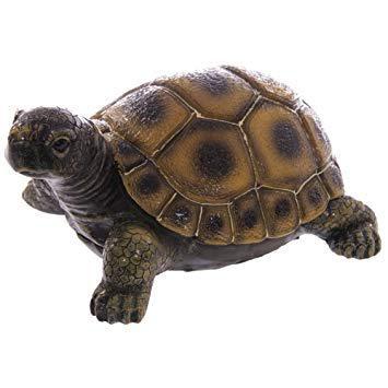 tortue en resine pour jardin
