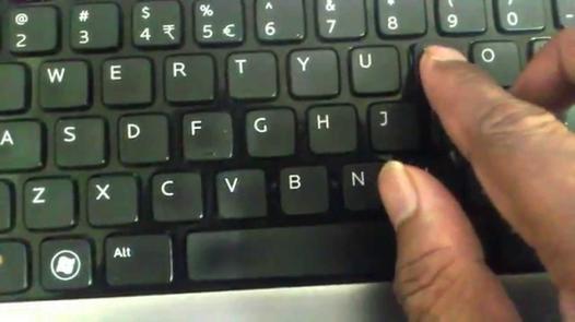 touche de pc portable