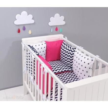 tour de lit bébé 60x120