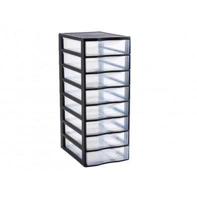 tour rangement tiroir plastique
