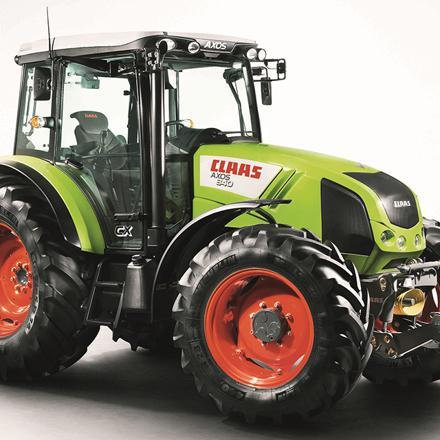 tracteur claas axos