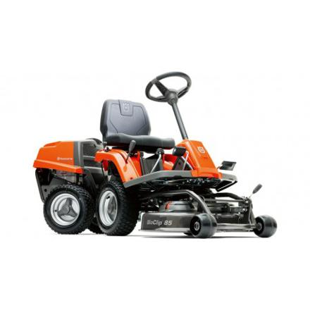 tracteur tondeuse mulching husqvarna