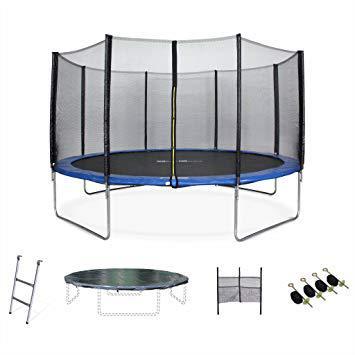 trampoline de qualité avec filet