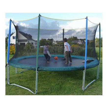 trampoline filet de protection