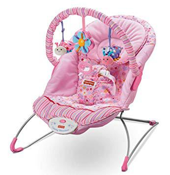 transat fisher price rose